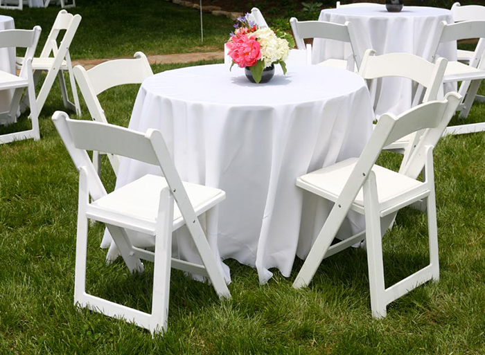 A&G Tent Rentals Table and Chair Rentals